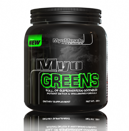MyoGREENS *250G* Super Greens Detox Formula